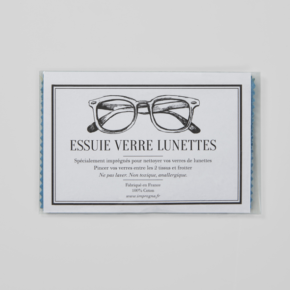 Essuie verre lunettes