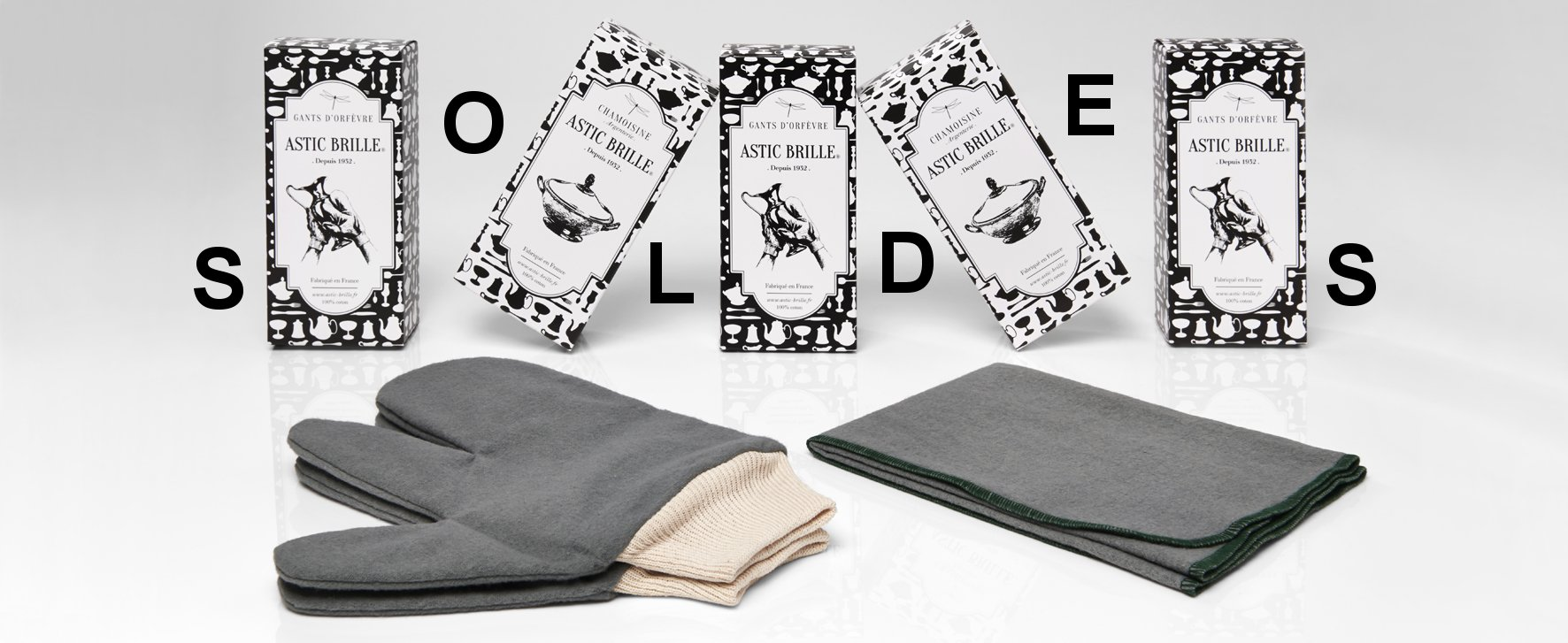 gants orfevre et argenterie Astic Brille SOLDES