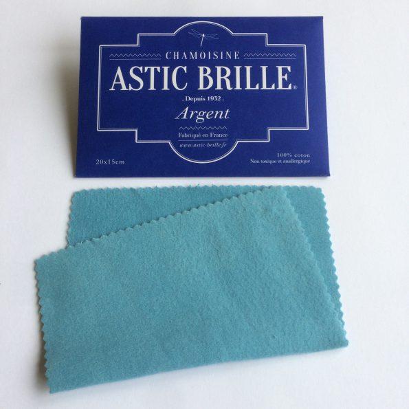Chamoisine Astic Brille – Argent – Petit