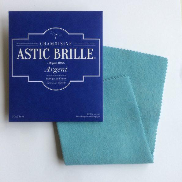 Chamoisine Astic Brille – Argent – Grand